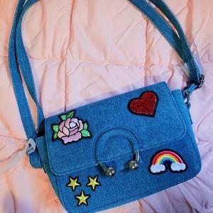 Handbags - *Adorable* NWOT 👖🌈 Jean Adjustable Shoulder Bag